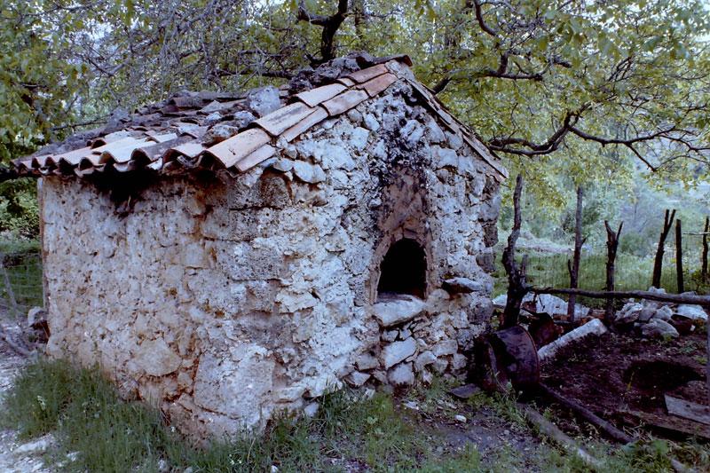 Horno de leña en Santiago-Pontones