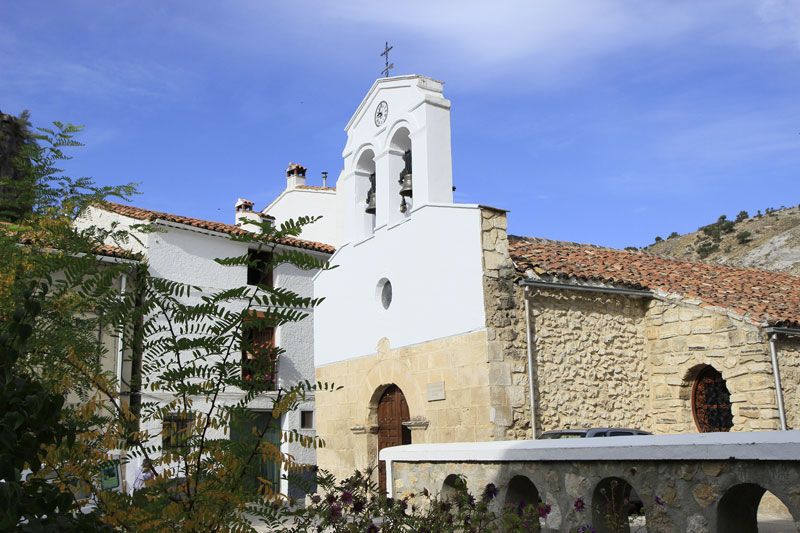 Iglesia Nuestra Señora del Rosario en Santiago-Pontones