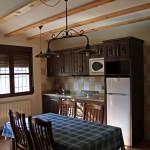 Salón-cocina Casa Inocente