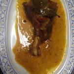 Cordero al horno Restaurante Guadalquivir