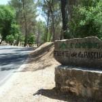 Entrada Camping Fuente de la Pascuala