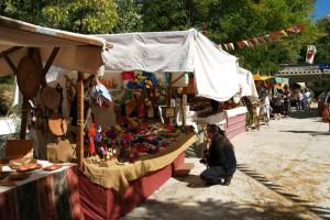 Feria Medieval Pontones. Fotografía Ángel Muñoz.