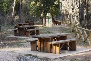 Área recreativa El Tobazo. Fotografía Sergio Fernández.