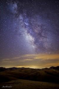 Observación de cielos en Santiago-Pontones. Fotografía de Juan Cuadros